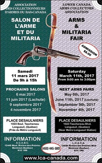 Association qu b coise propri taires d 39 armes a feu aqpaaf for Salon des armes a feu
