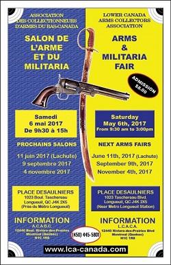 Avril 2017 association qu b coise propri taires d for Salon des armes a feu